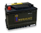 Аккумулятор MEDALIST 65Ah 580A 6CT 65 75D23R+слева