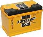 Аккумулятор для авто Forse 70 Ah (0) 680A 6СТ-70