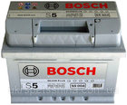 "Аккумулятор Bosch S5 Silver Plus 63Ah, EN 610 левый ""+"""