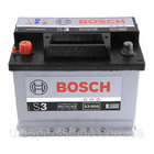 "Аккумулятор Bosch S3, 45Ah, En300, правый ""+"""