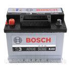 "Аккумулятор Bosch S3, 45Ah, En300, левый ""+"""